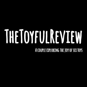 The Toyful review logo in white on black background